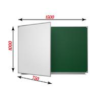2-элементные Доска школьная магнитная комбинированная  ДА-22