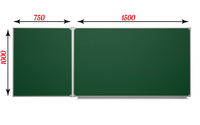2-элементные Доска аудиторная ДА-22 зеленая