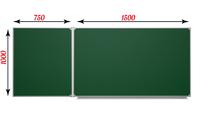2-элементные Доска школьная магнитно-меловая ДА-22 зеленая