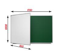 2-элементные Доска школьная магнитная ДА-24 комбинированная