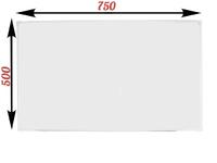 1-элементные Доска школьная магнитно-маркерная белая ДА-10 (настольная)