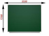1-элементные Доска школьная магнитно-меловая зеленая ДА-17 (з) мел
