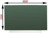 1-элементные Доска школьная магнитно-меловая зеленая ДА-18 (з) мел