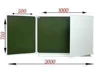 3-элементные Доска школьная магнитная комбинированная  ДА-31 (к) маркер/мел