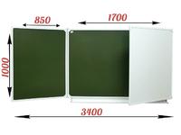 3-элементные Доска школьная магнитная ДА-34 (комбинированная)