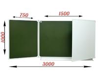 3-элементные Доска школьная магнитная ДА-32 (комбинированная)