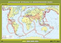 6 класс Крупнейшие вулканы и землетрясения мира