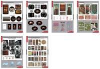 Распродажа со склада Комплект таблиц Декоративно-прикладное искусство (6табл.)