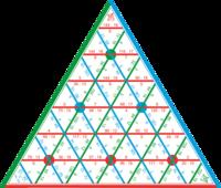 Таблицы Таблица Математическая пирамида Деление (демонстрационная)