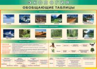 Печатные пособия Таблица Обобщающие таблицы (Винил)