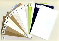 Коллекции Коллекция Раздаточные образцы картона и бумаги (15 видов)