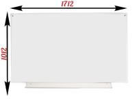 1-элементные Доска школьная магнитно-маркерная белая ДА-14 (б) маркер