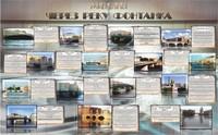 """Общеобразовательные учреждения Стенд """"Мосты через реку Фонтанка"""" 2000х1250"""