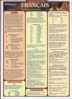 Французский язык Раздаточная таблица Французский язык Часть 1. Путеводитель по частям речи