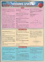 Раздаточные пособия Геометрия ч.3 Планиметрия