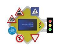 Интерактивное оборудование  Мультимедийный интерактивный комплекс ПДД «Главная Дорога»