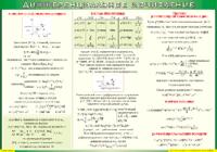 Таблицы Таблица Дифференциальное исчисление (Винил)