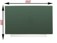 1-элементные Доска школьная магнитно-меловая зеленая ДА-12 (з) мел