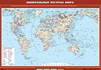 10 класс Минеральные ресурсы мира