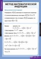 Таблицы Комплект таблиц Комбинаторика 5 таблиц