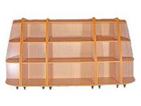 Детские стенки Комплект шкафов для игрушек и пособий «Солнышко-1»