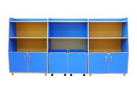 Детские стенки Комплект шкафов для игрушек и пособий «Василек-3»