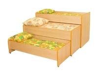 Мебель для спален Кровать трехуровневая раздвижная