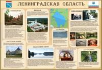 """Символика Стенд """"Символика районов Ленинградской области"""""""