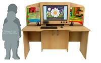 Интерактивное оборудование Мультимедийный образовательный интерактивный развивающий логопедический стол Logo 20