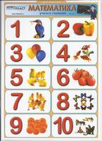 Математика Таблица Математика Часть 3 Учимся считать (раздаточная)