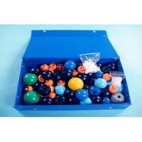 Приборы демонстрационные Демонстрационный набор для составления объемных моделей молекул.