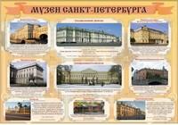 """Общеобразовательные учреждения Стенд """"Музеи Санкт-Петербурга"""""""