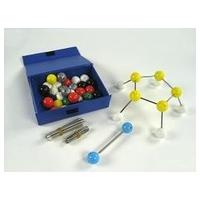 Модели Комплект моделей атомов для составления моделей молекул со стержнями (лабораторный)