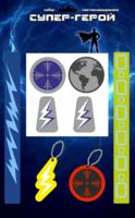 Световозвращающая продукция  Набор светоотражающий Супер-Герой