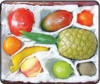 Мелкая моторика Набор муляжей тропических фруктов