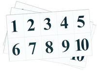Разное Набор цифр от 1 до 10