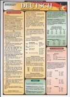 Немецкий язык Раздаточная таблица Немецкий язык Часть 1. Путеводитель по частям речи