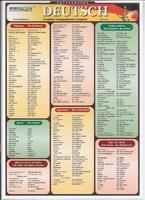 Немецкий язык Раздаточная таблица Немецкий язык Часть 2. Словарь повседневного общения