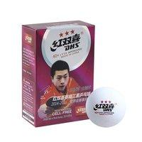 Мелкий инвентарь Мяч для настольного тенниса DHS 3*** пластик, ITTF Appr., белый