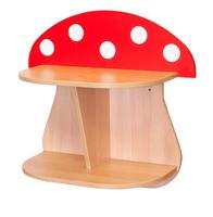 Мебель для гардероба Полка настенная «Мухомор»