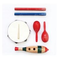Детские музыкальные инструменты Набор перкуссии ALINA PSET-4 (4шт.)