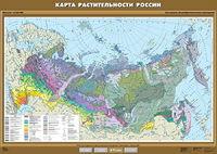8-9 класс Карта растительности России