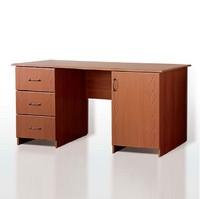 Столы письменные Стол письменный двухтумбовый комбинированный