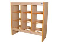Мебель для туалетных комнат Шкаф-стеллаж для горшков на 12 мест