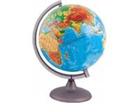 Глобусы Глобус физический Земли  М 1:50 млн. Д-25 см