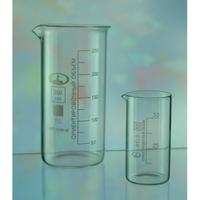 Посуда химическая Стакан лабораторный (тип В, высокие с делениями и носиком)