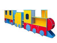 Детские стенки Стенка «Весёлый паровоз»