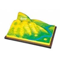 Коллекции,  модели Модель Вулканическая поверхность. Формирование гор