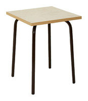 Мебель для столовой Табурет обеденный, квадратный. Сиденье-пластик.