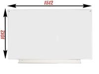1-элементные Доска школьная магнитно-маркерная белая ДА-12 (б) маркер